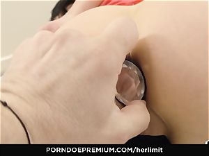 HER restrain - rough rectal and face ravage with Sasha Rose