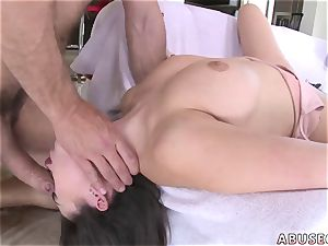 daddy slapping damsel first time Melissa Moore pleads For rough intercourse