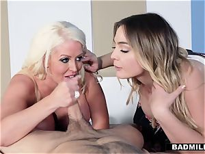 Blaire gets some romp advice from her stepmom