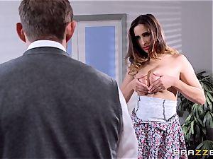 Ashley Adams bangs her tutor