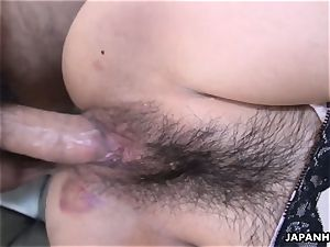 deepthroat a shaft then getting plowed in her dousing humid hole