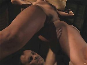Betinna gets a ruthless flagellating session
