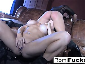 Romi Rain steamy girl-on-girl fuckfest