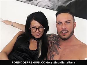 audition ALLA ITALIANA - ultra-kinky fuckfest with local first-timer