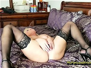 fill Up the Strippers gaping twat with Ms Paris Rose