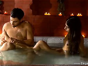 glamour couple enjoying In India Deeply killer
