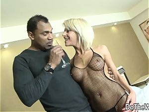 mummy wife takes black penis in all fuck holes