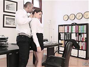 Valentina Nappi unwraps off and smashes her manager