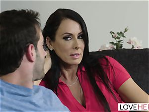 LoveHerFeet - Stepson humps His Stepmom On The couch