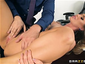 secretary Nicole Aniston romped in the pussyhole