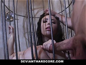 DeviantHardcore - Casey gets a mouth-watering fetish smash