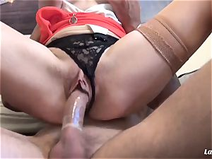 LA newbie - French mature loves gonzo donk fuck