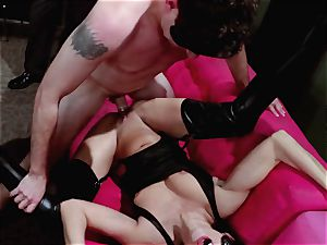 folks observe on as Britney Amber and Nikki Daniels gang pound