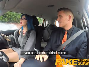 faux Driving college luxurious punk gets her bootie pummeled