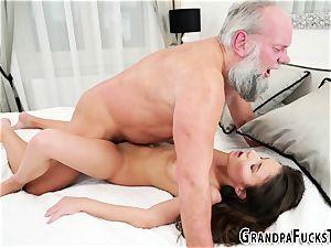 nubile boning elderly gramps