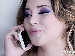 Anna Polina gets the big black cock approach