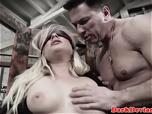 seized sexslave subdued and throated