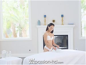 PASSION-HD Nuru dripping massage pulverize with japanese cootchie