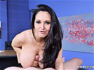 Ava Addams torn up in her moist cunt