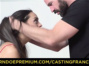 casting FRANCAIS - amateur ultra-cutie screwed and jizm facialed