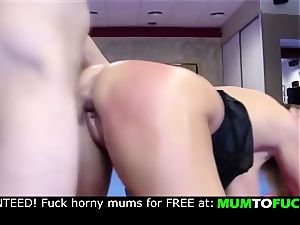 mom and son-in-law! rigid assfuck pound!!