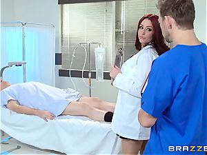 splendid doctor Monique Alexander pummels her trainee