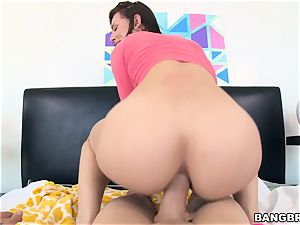 Aidra Fox getting slammed in her booty