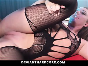 DeviantHardcore - encaged biotch Gets predominated By bbc