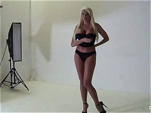 Behind the vignettes with stacked beauty Summer Brielle