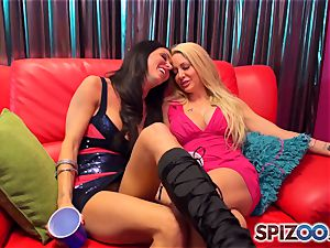Jessica Jaymes and Helly Mae Hellfire know how ot have a excellent time