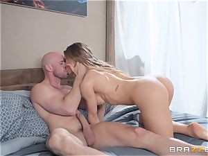 three-way with Nicole Aniston and Amia Miley