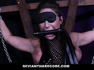 deviant xxx - anal invasion stunner Abella fiercely humped