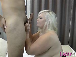 busty brit grandmother banged