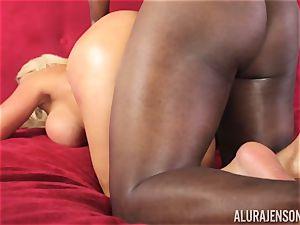 wild Alura Jenson dark-hued fuck-stick sucking beauty