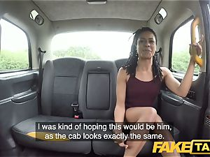 fake taxi hasty tearing up and internal cumshot for peachy caboose