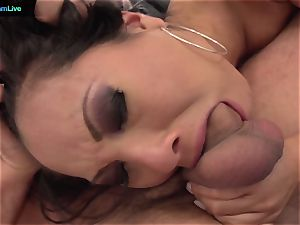 Asa Akira getting her anal invasion fix early in the morning