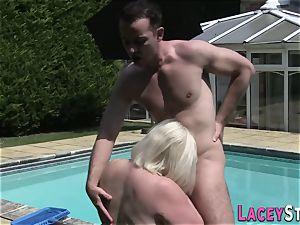 grandma fucks the Pool Cleaner truly rock hard