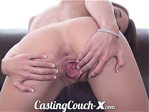 audition Couch-X Georgia peach thrilled to do porno for $