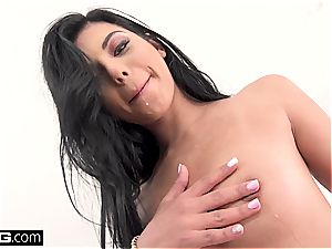 Gina Valentina gets every fuck hole stuffed and humped