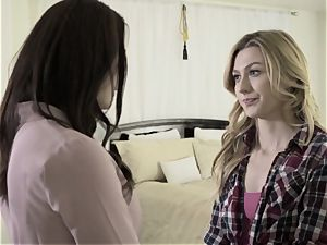 disrobed Down Sn 2 super hot lezzies Chanel Preston and Alexa grace