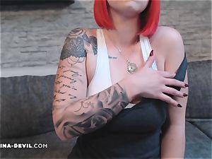uber-sexy Striptease in Calvin klein unterwäsche