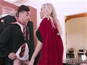 light-haired wiggling ejaculation gonzo Halloween exclusive With A 3some