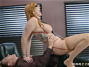 Lauren Philips puss stuffed by monster man rod