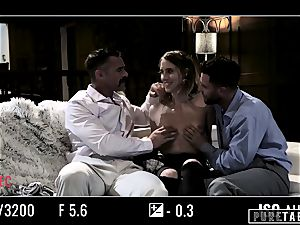 pure TABOO honey Tricked Into revenge 3some with Strangers