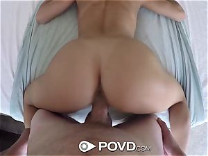 POVD hottest pummel with Leah Gotti