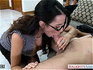 fucky-fucky teacher Ariella Ferrera take man-meat outdoors