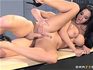 buxom teacher Ava Addams is banged by her student