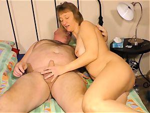 hardcore OMAS - sex-positive German grannie gets plowed stiff