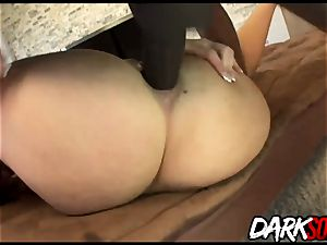 brunette Sophie Dee gets anal hump from bbc guy