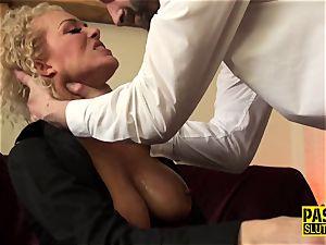 facehole penetrated slave milf